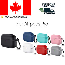 Silicone Protective Case For Apple Airpods Pro Airpod Charging With Clip Cover