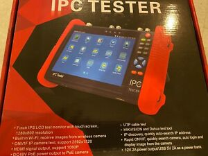 "IPC 7"" Touch Screen CCTV IP Camera Tester Model 82-20499-Defender"