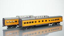 2x Rivarossi Dome Coach Union Pacific HO scale