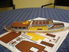 Modellbaubogen Fahrgastschiff