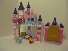 Duplo Legos Pastel Cinderella Castle with Figures 6154 Golden Gates Complete NM