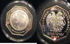 Armenia Millennium 2000 Silver proof coin.