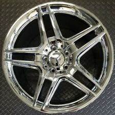 AMG MERCEDES C250 C300 C350 CHROME OEM ALLOY WHEEL RIM 18x8.5 2008-2015 (REAR)