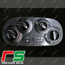Fiat 500 abarth ADESIVI climatizzatore manuale decal cover tuning carbon look