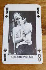 ANGUS YOUNG AC/DC SINGLE CARD KERRANG THE KING OF METAL 1990's
