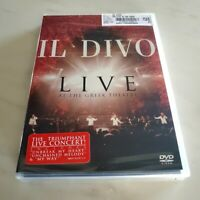 Il Divo - DVD - Live At The Greek Theatre - New / Factory Sealed
