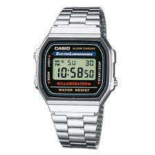 Reloj Casio A168WA-1YES Cronógrafo, Vintage ¡Envío 24h Gratis!