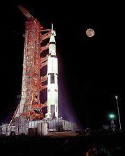 Apollo 17 Saturn V Rakete Prelaunch 8x10 Silber Halogen Fotodruck