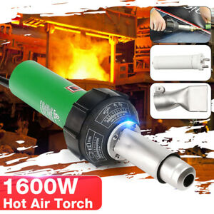 1600W 230V Hot Air Torch Plastic Rod Welding Gun Pistol Welder Machine Tool Kit