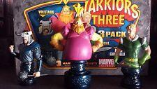 Warriors Three Bowen mini bust set