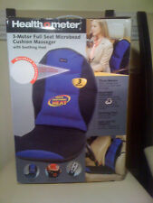 HealthOMeter Full Seat Cushion Massager w/Soothing Heat