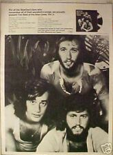 1973 BeeGees Rock & Roll Music Record/Album Art Print AD
