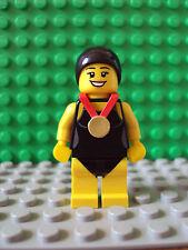 Lego Minifig ~ Series 7 ~ Swimming Champion ~ #plxzrgq