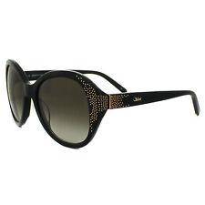 Chloe Sunglasses CE 628S 001 Black Brown Gradient