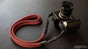 Camera strap for Leica SL2 SL S   Poly Silk Rope   Rock N Roll Straps   125