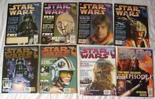 8 STAR WARS THE OFFICIAL MAGAZINES TITAN 1996-99 # 1 3 4 6 7 10 11 20 COMICS VGC