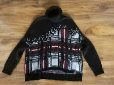 DIESEL Italian Yarn oversized sweater jumper S