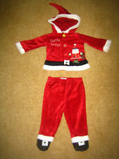 Mamas & Papas Baby Two Piece Santa Set 3 - 6 months