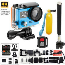 H3R 4K For GoPro HD Sport Action Camera 2.4G Remote Controller 2xBattery