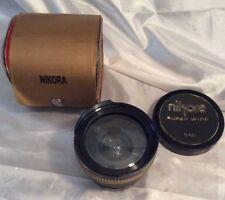 Nikora Convertidor Super Wide 0.42 x 52mm Anillo de montaje Lente Macro