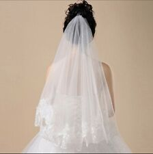 Halloween Bride Veil Dress Up Embroidered Free P&P Wedding