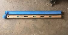 """Mayes Brothers 48"""" Wooden Level W/ Carrying Case Tool Made In USA"""