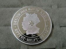 Medaille. Deutsches Rotes Kreuz. Ca. 26 Gramm 999er Silber . Rot Kreuz .