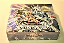YuGiOh 5Ds Stardust Overdrive booster box Factory Sealed New English Edition