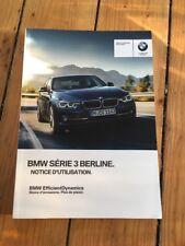 Manuel Notice D Utilisation BMW Série 3