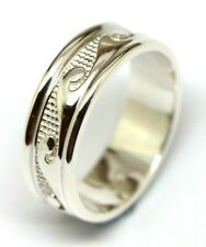 Size 13 / Z+ 1 Kaedesigns Genuine Genuine Sterling Silver 925 Surf Wave Ring