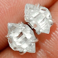 Herkimer Diamond - USA 925 Sterling Silver Earring XGB Jewelry BE14547