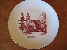 EAGLE HARBOR CONGREGATIONAL CHURCH - Bainbridge Island, WA - Anniv Plate