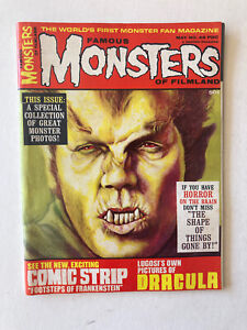 FAMOUS MONSTERS OF FILMLAND  # 49  MAY 1968  WARREN Magazine