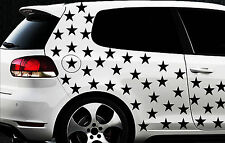 150x Sterne Star Auto Aufkleber Set Sticker Tuning Shirt Stylin WandtattooTribel