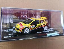 1/43. Peugeot 207 SUPER 2000. Tour Corcega (2011). Thierry Neuville-N. Gilsoul
