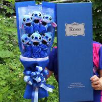 Stitch Bouquet Artificial Love Cartoon Plush Toys Plush Toys Stitch Festivals
