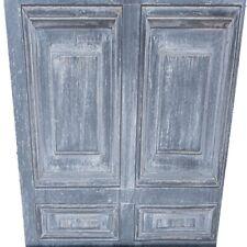 Charcoal Dark Grey Wood Panel Wallpaper Realistic Door Rustic Feature Wall