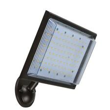 Commercial Electric Street Lamp Flood Light Integrated LED Dusk-to-Dawn Control