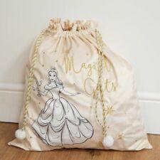 Disney Luxury Plush Velvet Christmas Sack -  Belle