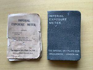 Imperial Exposure Meter Plus Inst Book