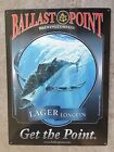 Ballast Point Longfin Lager Tuna Fish Craft Beer Brewery Vintage Ad Steel Sign