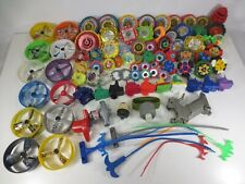 Huge lot of Spinning Top Toys Mixed Lot
