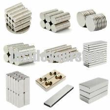 5-100Pcs 10x1mm 10x2mm Magnets Rare Earth Neodymium Super Strong Round Disc N35