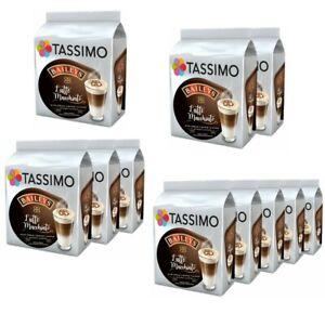TASSIMO BAILEYS LATTE MACCHIATO COFFEE PODS T-DISCS 8/16/24/40 DRINKS