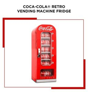 Vintage Coca Cola Vending Machine Cooler