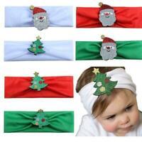 Weihnachten Stirnband Santa Claus Mädchen Baby Haar Kinder kinder Bands Zub X5O8