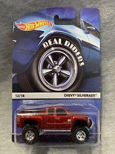 2014 Hot Wheels Real Riders Chevy Silverado!