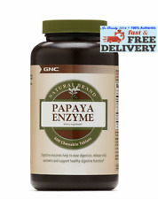GNC Natural Brand Papaya Enzyme, Supports Digestive Health - 600 Tablets