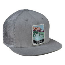 9c3e8751 Big Bend National Park Trucker Hat by LET'S BE IRIE - Gray Denim Snapback