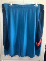 Nike Pro Training Men's DriFit Athletic Knit Shorts 684821-413 Size XXL